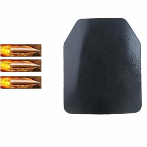 Armor QTrees NIJ IV Panneaux pare-balles 4,5 mm Plaque balistique de protection pour gilet tactique