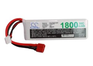 Battery for Airplane, Helicopter, Racing Car, Scale Boat Deans/T-Plug AWG14 Li-Polymer 11.1V 1800mAh – 30C