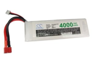 Battery for Airplane, Helicopter, Racing Car, Scale Boat Deans/T-Plug AWG14 Li-Polymer 7.4V 4000mAh – 35C