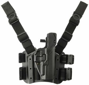 Blackhawk. SERPA Level 3 Tactical Holster – Finition Mate, Mixte, 430624BK-R, Noir, Size 24 – Walther P-99