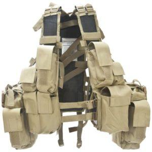 Gilet de combat RSA – Coyote – Miltec – 12 Ta.