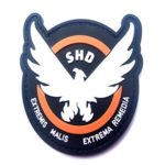 Minkoll Corrections de Jeu, Division de Caoutchouc de SHD Ailes Dehors l'insigne de Correction de PVC Airsoft de Morale