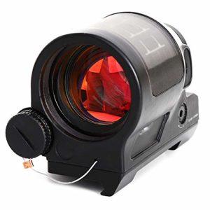 MUJING 1X38 Viseur Point Rouge Portée Visée holographique réflexe Lunettes de visée Tactiques pour Lunette de visée