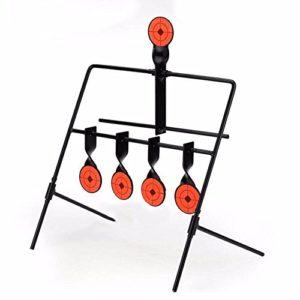 OAREA Réinitialisation Automatique Steel Rotation Cible de tir pour la Formation de tir de précision