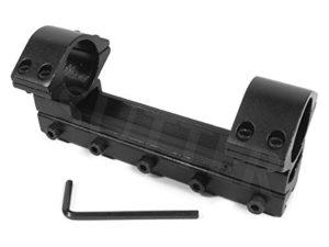 Rail de montage pour lunettes de visée / Pour rails de prismes 11-13mm / Diamètre : ø 25,4mm / Hauteur : 50mm / Longueur : 120mm