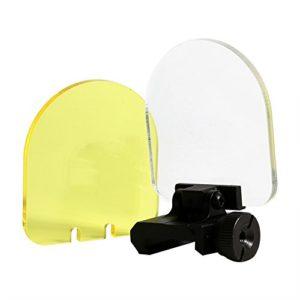 Samfox Protecteur de Lunette, Scope Protecteur d'objectif Viseurs de Protection Pliables Bouclier de Protection d'écran