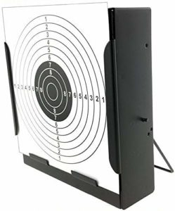 Airsoft magic Metal Box BB Catcher Target with 20 Paper Targets for AEG GBB Airsoft – Black