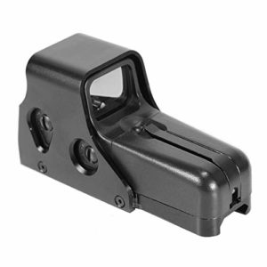 Big Dragon Viseur Point Rouge/Vert Airsoft Eotech 552, Aluminium anodisé (Noir)