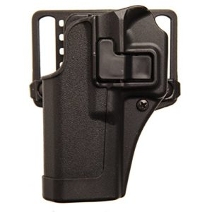 BlackHawk Serpa CQC Belt Loop and Paddle Holster For Glock 19 Right Hand Black