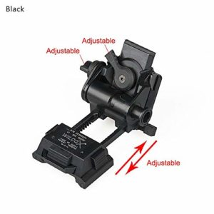 Boyang CNC PVS15/18 Support de Lunettes de Vision Nocturne pour Casque L4G24 NVG en métal