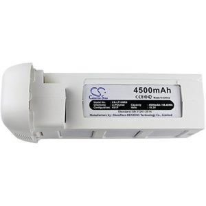 CS-LT109RX Batterie 4500mAh Compatible avec [DJI] Phantom 3, Phantom 3 Advance, Phantom 3 Drones, Phantom 3 Professional remplace PHA-3