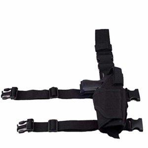 Étui de pistolet de jambe, étui Airsoft de jambe droite Sac de ceinture tactique multifonctionnel Jeu de terrain en plein air Général pour hommes et femmes