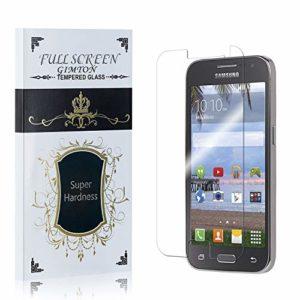 GIMTON Verre Trempé pour Samsung Galaxy Core Prime, Dureté 9H, Ultra Résistant Protection en Verre Trempé Écran, sans Bulles, Installation Facile, 1 Pièces