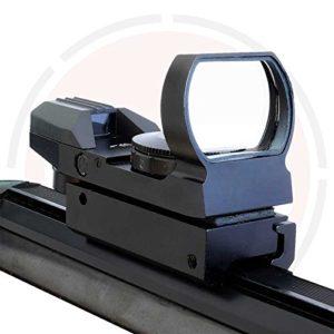 holographique Reflex Vision / résistant aux Chocs Rouge & vert pointillé FUSIL Mire – queue d'Aronde (9.5-11mm) montages