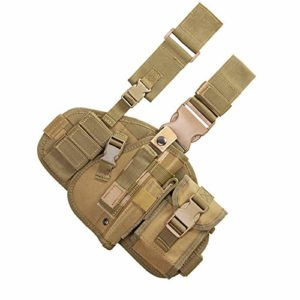 Leg Leggings Holster Unisex Combined Airsoft Holster MultiFunction Tactical Belt Bag Outdoor field game camouflage quick pull sleeve