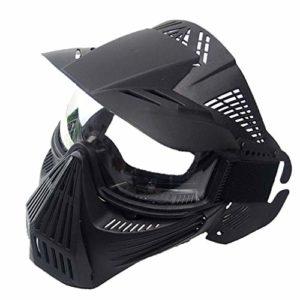 Léger Respirant CS Extérieure Militaire Tactique PC Lens Airsoft Masque CS Paintball Masque de Plein Air Partie de Protection Masque