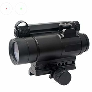 MUJING M4 Professional Red Dot Sight Combination Sight for 20mm Rail Rifle Airsoft Outdoors Hunting Scope Riflescope Hunting Optics