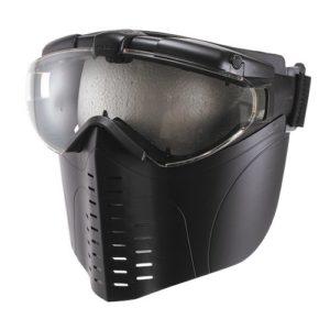 No1 professional goggles / full face matt black (japan import)