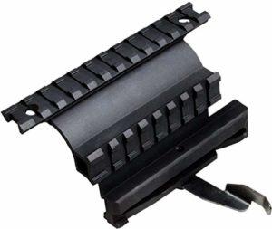 UTG 5th GEN MNT-978 Quick Detachable Double Rail AK Side Mount Noir