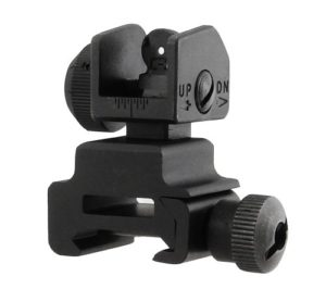 UTG MNT-951 Casque Flip Up Rear Sight Noir