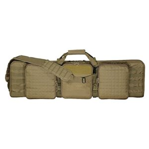 Voodoo Tactical 42inch Deluxe Padded Weapon Case With 6 Black Locks – by VooDoo Tactical