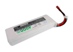 1-Year Warranty JST-XH-2.54 AWG24 3 Cells 11.1V 4000mAh Battery for Airplane, Helicopter, Racing Car, Scale Boat