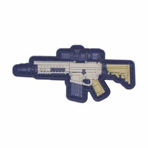 Cobra Tactical Solutions SR25 MK12 vers.2 Patch en PVC avec fermeture Velcro pour Airsoft Paintball