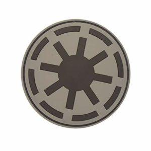 Cobra Tactical Solutions Star Wars Galactic Republic Ecusson PVC Patch Tactique Moral Militaire Applique Emblème Insignes Fastener à Crochet et Boucle Airsoft Paintball Cosplay
