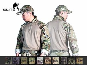 Elite Tribe Emerson Airsoft Tactique Militaire Chemise Combat Gen3 Chemise (Coyote Brown, Large)