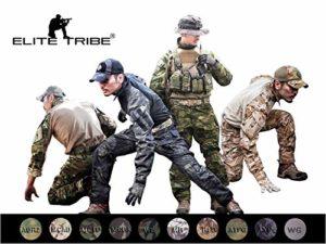 Emerson Airsoft Tactique BDU Militaire Costume de Combat Gen3 Uniforme Chemise Pantalon (Wolf Gray, X-Large)