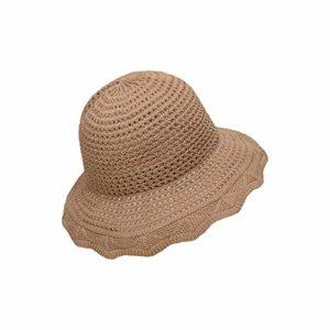 Kebab Chapeau de soleil pliable pour adulte, D, 56-58 cm