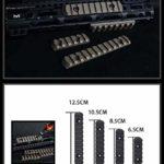 LINSUNG réplique (Types Types L2 & L3 & L4 & L5) Rail polymère de Protection de la Main MOE BK