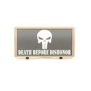 LWA Panneau de rail personnalisé Punisher Death Before Dishonor – Dark Earth