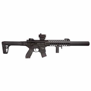 Sig Sauer MCX ASP FDE + Pistolet Mitrailleur Red Dot Co2, 4,5 mm – 0,5 Joules