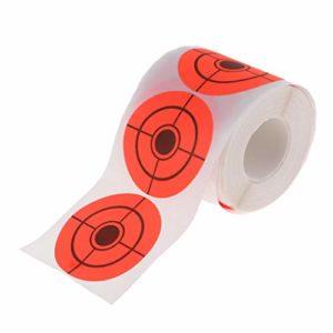 Toygogo Rouleau 250x Papier Autocollant Cible Auto-adhésifs pour Tir à l'arc Accessoire de Chasse Tir de l'arc Exercice