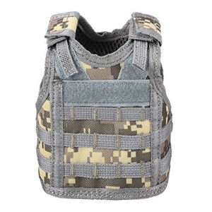 Walmeck Tactical Beer Gilet Militaire Molle Miniature Miniature Bouteille Bouteille Peut Refroidisseur Manches Titulaire