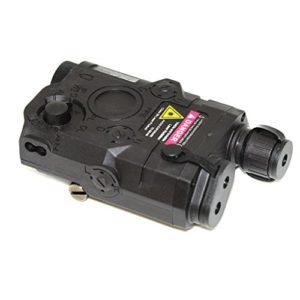 Airsoft Gear Parts Accessories PEQ 15 Boîtier de batterie avec support RIS Noir