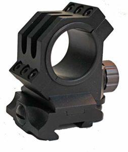 FTQ 30mm / 25.4mm Anneaux adaptent 20 mm Weaver/Picatinny Portée Rail Mount QD Quick Release for la Chasse Riflescope Bague de Montage Rentable