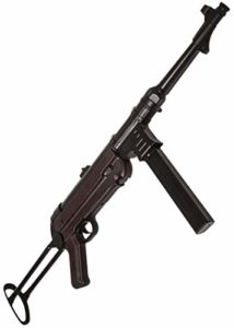 MP40 Airsoft AGM Bakelite Métal WW2 Electrique Automatique/Semi-Automatique (MP007A 0.5 Joule)