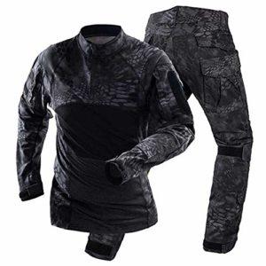 NOBRAND Uniformes Tactiques Hommes Airsoft Militaires Vêtements Jeux Camouflage Combat Spécial Force Costumes Paintball Vestes Pantalon