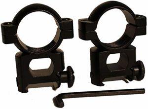QFL FTQ 1 Paire de 25 mm X 20 mm Rifle Scope 1″ Mounts 25.4mm Diamètre de l'anneau, Pistolet Carabine à air comprimé Montage Lunette Rentable