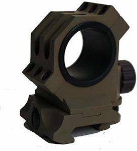 QFL FTQ 30mm / 25.4mm Anneaux adaptent 20 mm Weaver/Picatinny Portée Montage sur Rail, Chasse Riflescope Mont Anneau Rentable