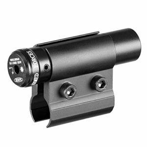 ACEXIER Lunette de visée Laser Tactique Point Rouge avec Support pour Pistolet Picatinny Rail et Fusil pour tir de Chasse Airsoft