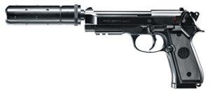 Beretta M92a1 Tactical Noir Culasse Métal AEP Pack Complet 0.5J Adulte Unisexe, Taille Unique