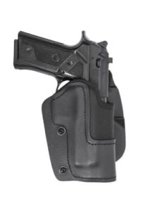 Front Line KNG02P-BK Open Top Kydex New Generation Paddle Holster, Black, Right by Mako Defense