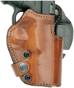 Front Line LKC72-BR Open Top BFL Holster, Brown, Right by Mako Defense