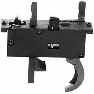 Generica Airsoft Accessoires pièces détachées WELL MB01 Déclencheur en métal pour L96 Type MB01 / SD96 / UTG Type 96 / Shadow Ops/Bravo/Double Eagle/MaruzenSniper Fusil