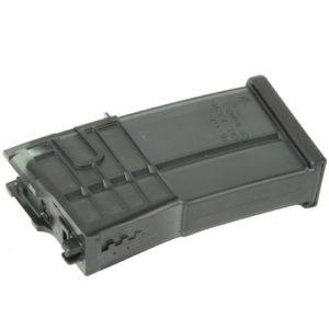 H&K Chargeur HK 417 GAZ Blowback 20 Billes Adulte Unisexe, Noir, Taille unique