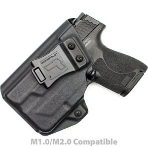 M & P Shield 9 mm/de W/Tlr-6 Holster – Tulster Profilelb Holster IWB, noir