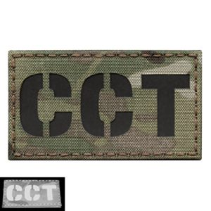 Multicam CCT Combat Control Team Controller Air Support Infrared AFSOC IR 3.5×2 Tactical Morale Touch Fastener Patch